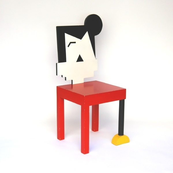 Attirant One Mickey Mouse Chair By Ulf Pålsson   Köpes Online Hos PTV.se